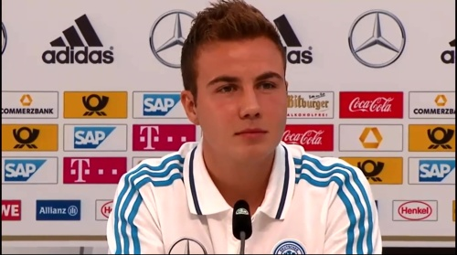 Mario Götze - press conference 3