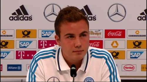 Mario Götze - press conference 5
