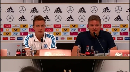 Mario Götze - press conference 6