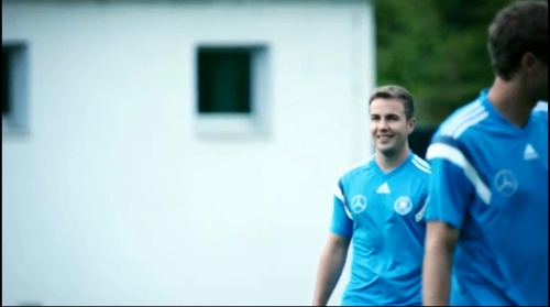 Mario Götze - training 1
