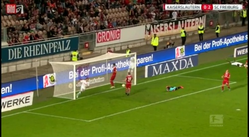 Nils Petersen - 1.FCK v SC Freiburg 2