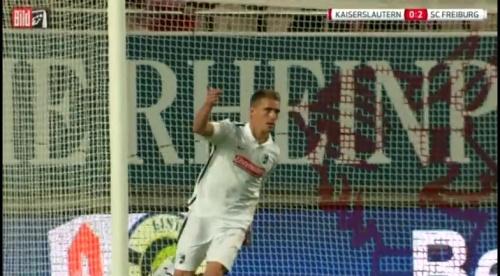 Nils Petersen - 1.FCK v SC Freiburg 3