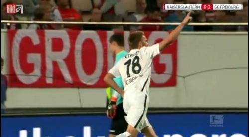 Nils Petersen - 1.FCK v SC Freiburg 4
