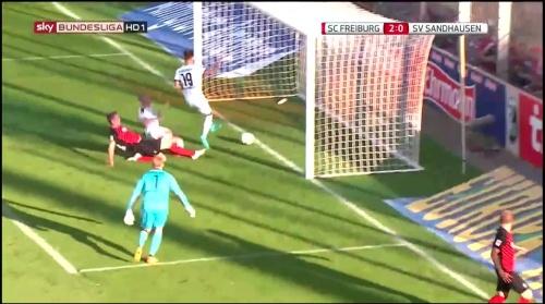 Nils Petersen goal - SCF v SVS 2