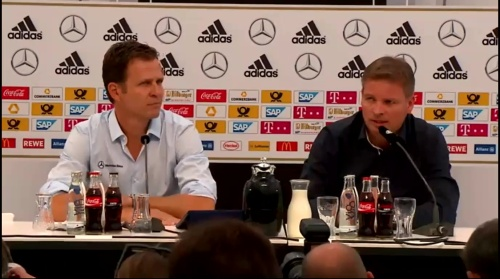 Oliver Bierhoff - press conference 1