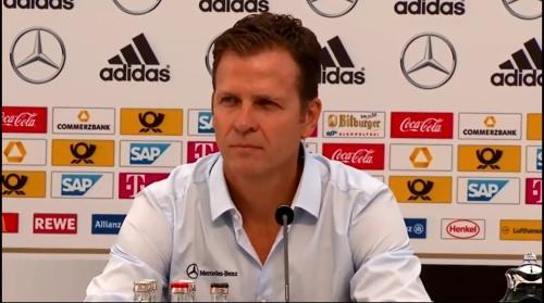 Oliver Bierhoff - press conference 2
