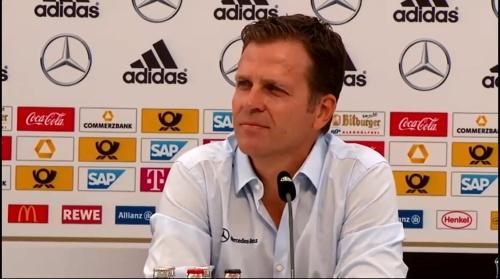 Oliver Bierhoff - press conference 3