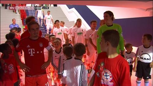 Philipp Lahm & Thomas Müller – Bayern v Augsburg 2