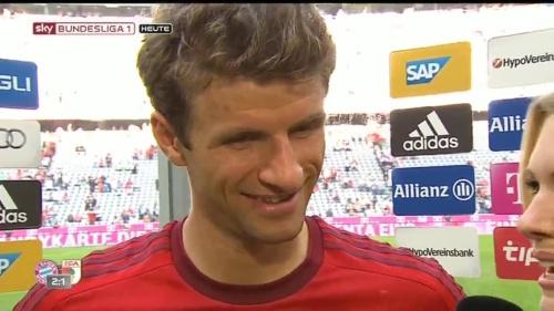 Thomas Müller – Bayern v Augsburg 4