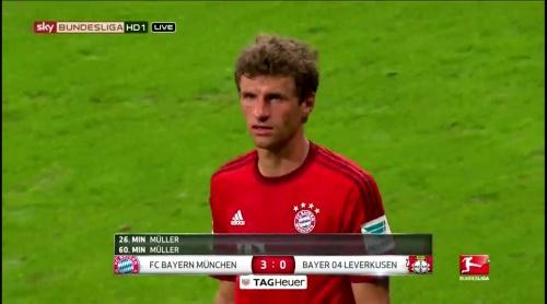 Thomas Müller – FCB v B04 2