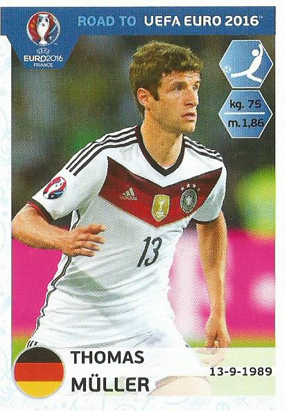 Thomas Müller – Germany - Road to Euro 2016