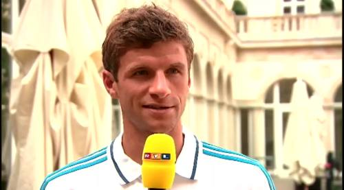 Thomas Müller – RTL interview 1