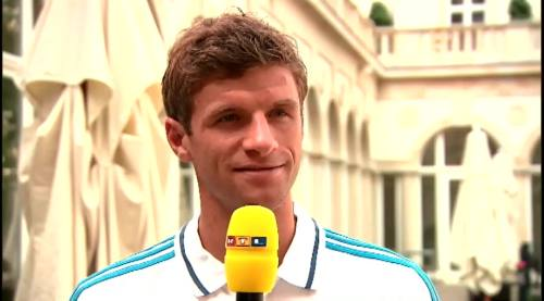 Thomas Müller – RTL interview 2