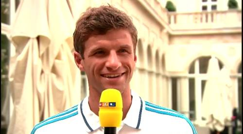 Thomas Müller – RTL interview 3