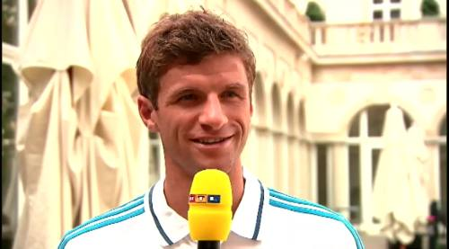 Thomas Müller – RTL interview 5