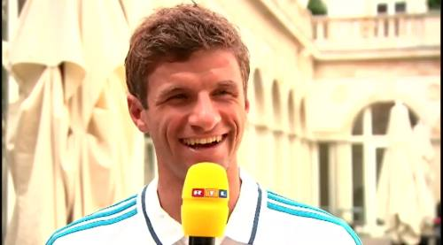 Thomas Müller – RTL interview 7