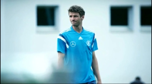 Thomas Müller – training 1