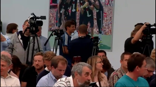 Thomas Müller - press conference 1