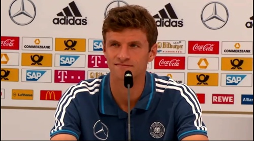 Thomas Müller - press conference 3