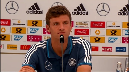 Thomas Müller - press conference 4
