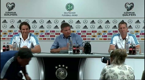 Thomas Schneider & Andreas Köpke - Pressekonferenz 1