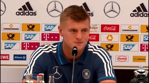 Toni Kroos - press conference 1