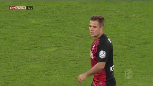 Amir Abrashi - SC Freiburg v FCA - DFB Pokal 2015-16