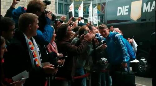 Bastian Schweinsteiger – Ankunft in Leipzig 2