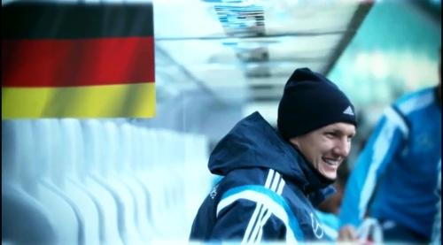 Bastian Schweinsteiger – training in Leipzig 1