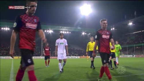 Christian Günter & Maximillian Philipp - SC Freiburg v FCA - DFB Pokal 2015-16