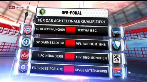 DFB Pokal 2015-16 - last 16 1