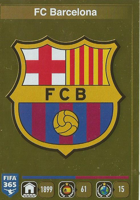 FC Barcelona badge - FIFA 365 sticker
