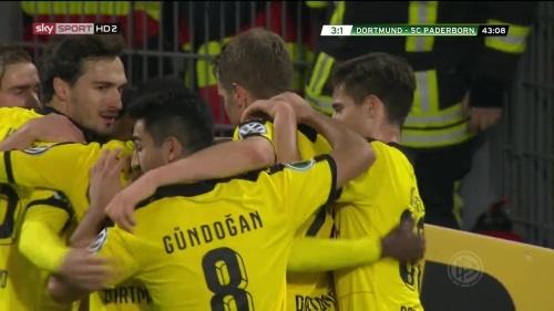 Goal celebrations - third goal - BVB v SCP 1