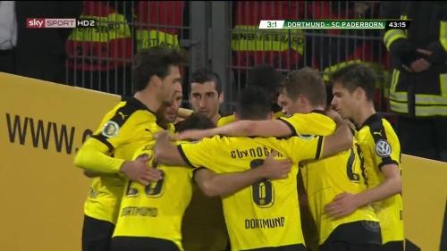 Goal celebrations - third goal - BVB v SCP 2