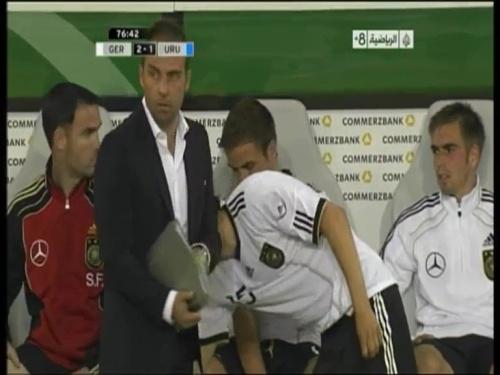 Hansi Flick - Germany v Uruguay 10