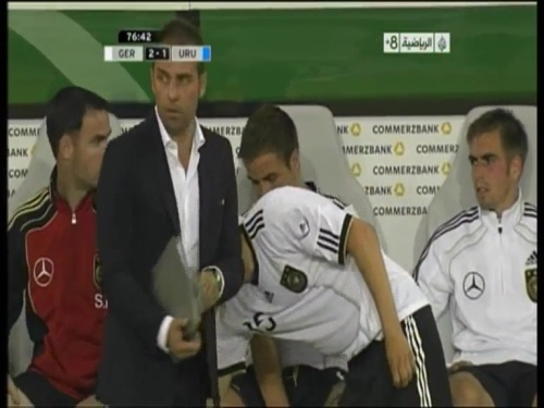 Hansi Flick - Germany v Uruguay 11