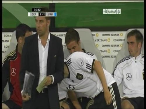 Hansi Flick - Germany v Uruguay 12