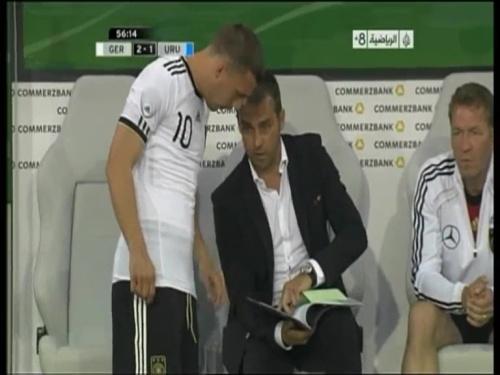 Hansi Flick - Germany v Uruguay 2