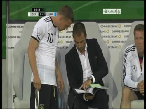 Hansi Flick - Germany v Uruguay 3