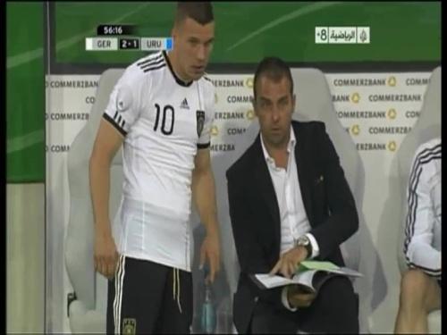 Hansi Flick - Germany v Uruguay 4