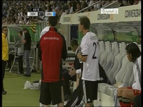 Hansi Flick - Germany v Uruguay 6