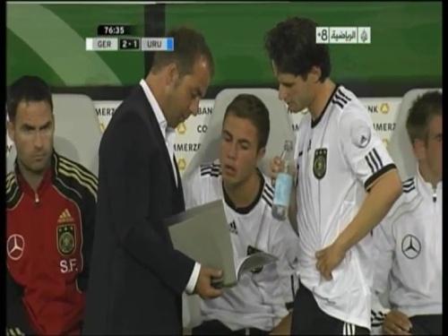 Hansi Flick - Germany v Uruguay 7