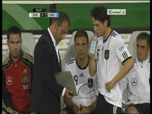 Hansi Flick - Germany v Uruguay 8