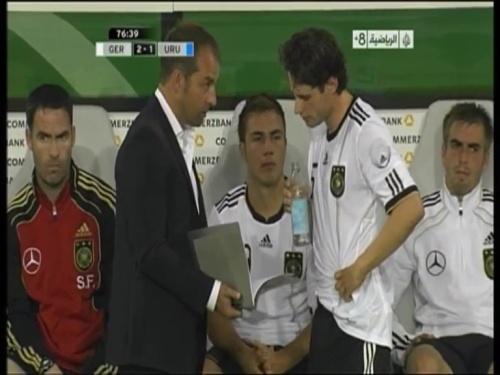 Hansi Flick - Germany v Uruguay 9