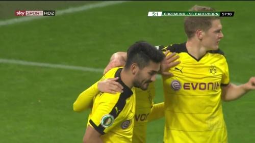 Ilkay Gündogan & Matthias Ginter – Dortmund v Paderborn –DFB Pokal 15-16 4