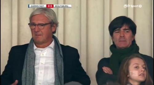Joachim Löw at Darmstadt v VfL Wolfsburg 12