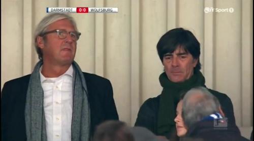 Joachim Löw at Darmstadt v VfL Wolfsburg 14