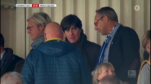 Joachim Löw at Darmstadt v VfL Wolfsburg 7