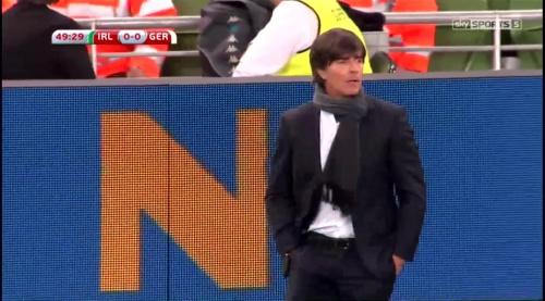 Joachim Löw – 2nd half – Ireland v Germany 1