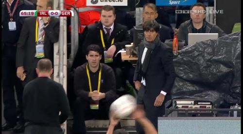 Joachim Löw – 2nd half – Ireland v Germany 10